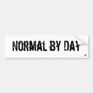 NormalByDay Bumper Sticker