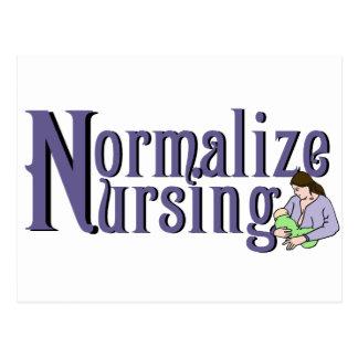Normalize Nursing Postcard