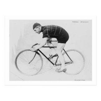Norman Anderson Side View of Racing Bicycle Postcard