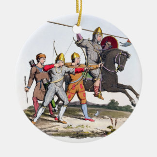 Norman Knight and Archers, 1066, from 'Ancient Arm Christmas Ornament