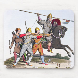 Norman Knight and Archers, 1066, from 'Ancient Arm Mouse Mat