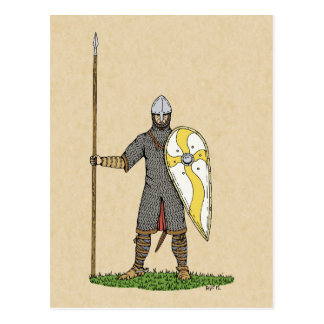 Norman Knight, Circa 1066 Postcard