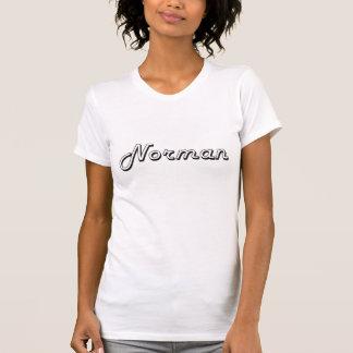 Norman Oklahoma Classic Retro Design T Shirts