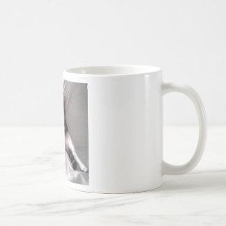 Norman the cat coffee mug
