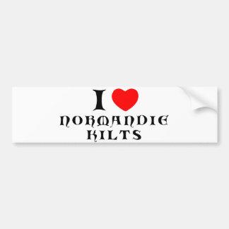 Normandiekilts sticker bumper sticker
