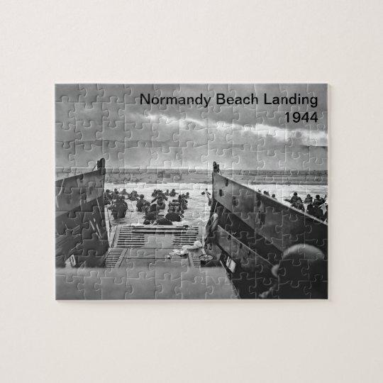Normandy Beach Landing Jigsaw Puzzle