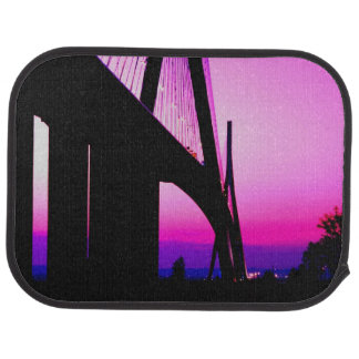 Normandy Bridge, Le Havre, France Car Mat
