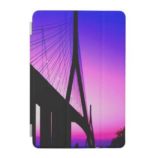 Normandy Bridge, Le Havre, France iPad Mini Cover