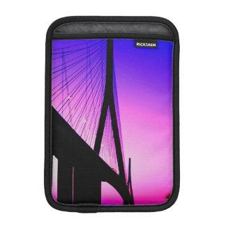 Normandy Bridge, Le Havre, France iPad Mini Sleeve