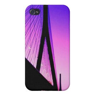 Normandy Bridge, Le Havre, France iPhone 4 Cover