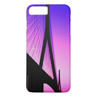 Normandy Bridge, Le Havre, France iPhone 8 Plus/7 Plus Case