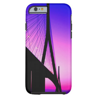 Normandy Bridge, Le Havre, France Tough iPhone 6 Case