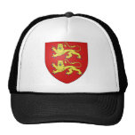 Normandy (France) Coat of Arms Trucker Hats