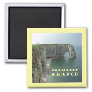 Normandy France Fridge Magnet