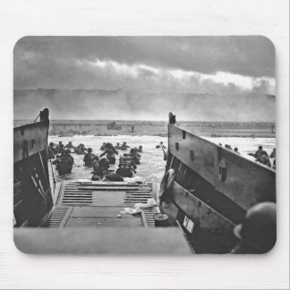 Normandy Invasion at D-Day - 1944 Mouse Mat
