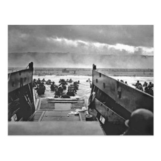 Normandy Invasion at D-Day - 1944 Postcard