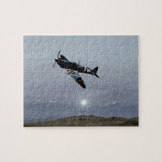 Normandy Spitfire 0500 hrs 6 6 44 Jigsaw Puzzle