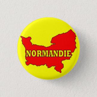 Normandy swipes in 3 cm round badge