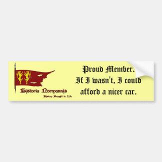 Normannis Car Sticker Bumper Stickers