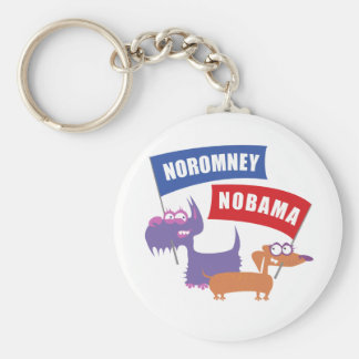Noromney, nobama! keychains