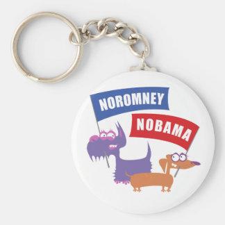 Noromney, nobama! key chain