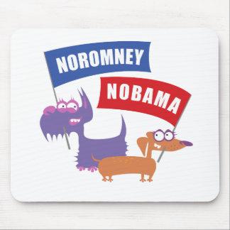 Noromney, nobama! mouse pad