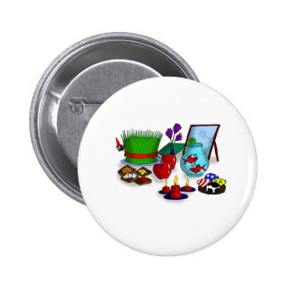 Norooz Cartoon 6 Cm Round Badge
