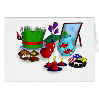 Norooz Cartoon Card