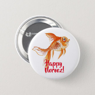 Norooz Goldfish 6 Cm Round Badge
