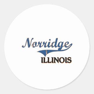 Norridge Illinois City Classic Stickers