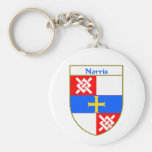 Norris Coat of Arms/Family Crest Key Chains