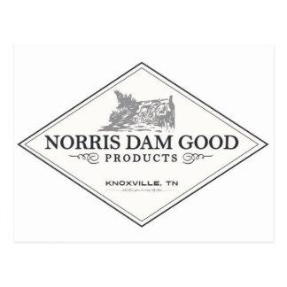 Norris Dam Good Products Postcard