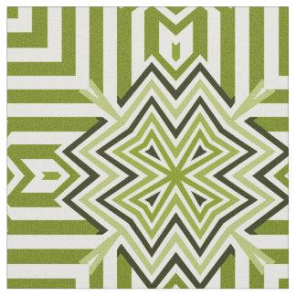 Norse Cross Green Fabric