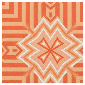 Norse Cross Orange Fabric