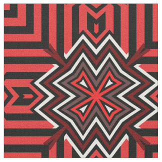 Norse Cross Red Fabric