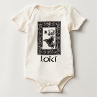 Norse God Loki Baby Bodysuit