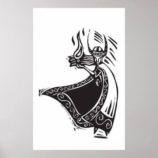 Norse God Loki Print