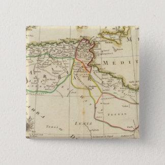 North Africa 15 Cm Square Badge