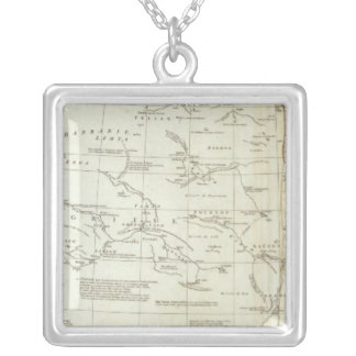 North Africa 2 Silver Plated Necklace
