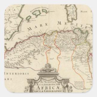 North Africa 3 Square Sticker