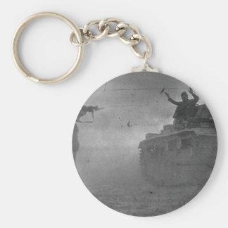 North Africa Capture German Tank Key Chains