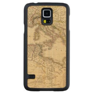 North Africa, Mediterranean Sea Carved Maple Galaxy S5 Case