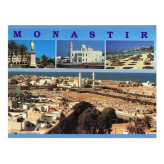 North Africa, Monastir, Tunisia, Multiview Postcard