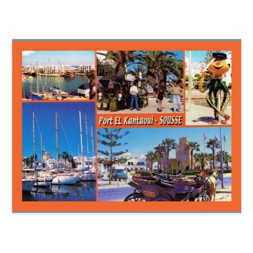 North Africa, Sousse Tunisia Postcard