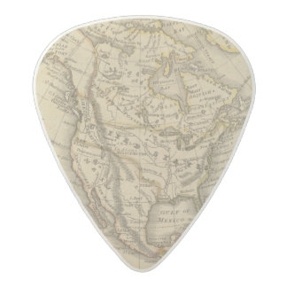 North America 10 2 Acetal Guitar Pick