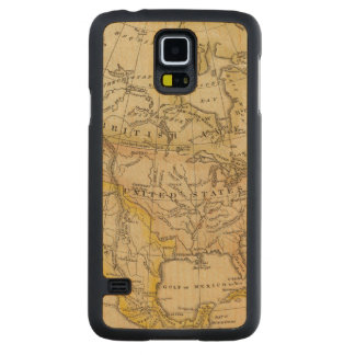 North America 10 2 Carved Maple Galaxy S5 Case