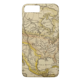 North America 10 2 iPhone 8 Plus/7 Plus Case