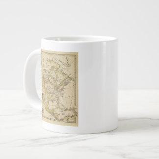 North America 10 2 Large Coffee Mug