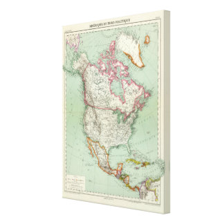 North America 10 Canvas Print