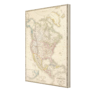 North America 11 Canvas Print